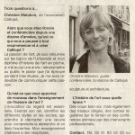 Ouest France (octobre 2012)