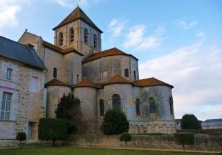 Chevet de l'abbaye de Saint-Savin sur Gartempe (XIe siècle)