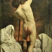 Pierre Hubert Subleyras, Caron passant les ombres, entre 1735 et 1744, huile sur toile, 135 x 83 cm, Paris, Louvre