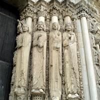 Statues du portail royal, cathédrale de Chartres