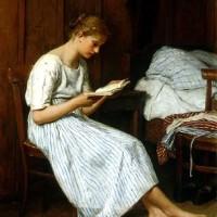 albert-anker-jeune-fille-lisant-reproduction-grands-maitres-peinture-sur-toile-galerie-art-artiste-peintre-copiste-professionnel-qualite-tableaux-musee-france-culture
